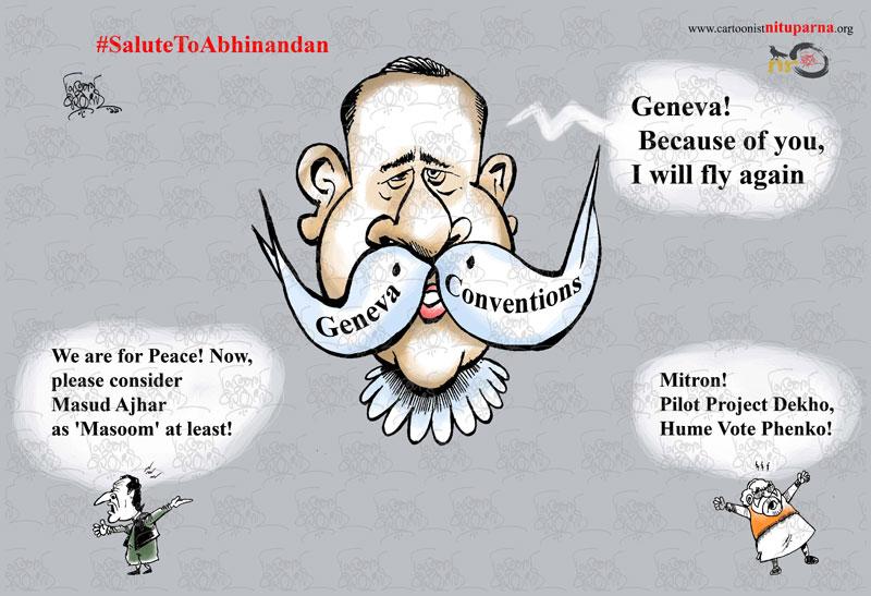 Abhinandan Varthman best Cartoon